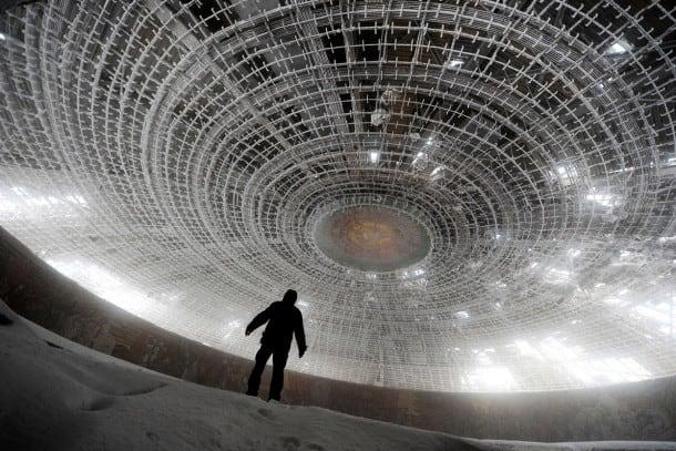 abandoned russian rocket factory