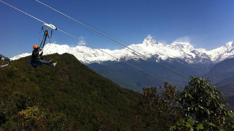 zipflying pokhara Nepal